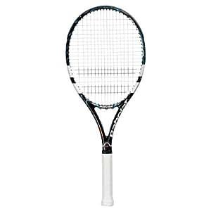 BABOLAT Pure Drive GT Adult Tennis Racket, Unisex, Tennisschläger Pure Drive GT, Schwarz/Weiß/Blau, L2