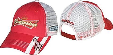 Kevin Harvick 2014 NASCAR Budweiser #4 Adjustable Mesh Trucker Hat