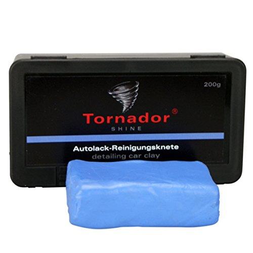 REINIGUNGSKNETE TORNADOR SHINE BLAU 200G IN KUNSTSTOFFBOX