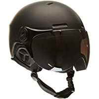 Black Crevice Skihelm - Casco de esquí, color Negro Mate/Blanco (Matt Black/White), talla M/L (58-61 cm)