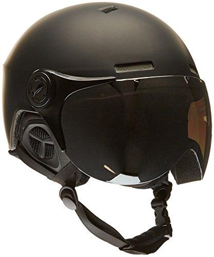 Black crevice bcr140198-bw-2_matt black/white_58-61 - casco da sci, 58-61, colore: matt black/white