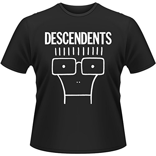 plastic-head-descendents-milo-t-shirt-homme-noir-black-fr-large-taille-fabricant-large