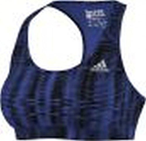 Adidas brassière de sport pour femme techfit Negro / Azul / Plata
