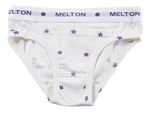Melton - Numbers, 2er-Pack AOP Mädchen Pants, Slip per bambine e ragazze, violetto (violett  (bright lilac 704)), 12