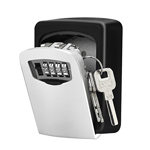 Wand montiert Lock Box, Kombination Key Sichere Lagerung Lock Box für Haus Home Garage Schule Ersatzschlüssel (Lock-box Home-taste,)