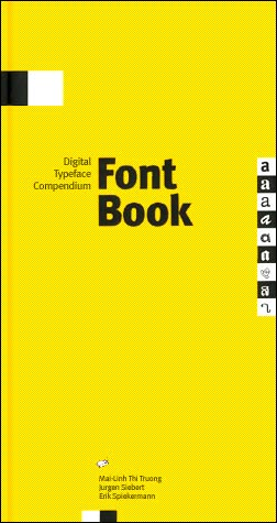 Fontbook: Digital Typeface Compendium Buch-Cover