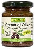 Rapunzel Bio Crema di Olive, Oliven-Würzpaste (2 x 125 ml)
