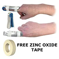 Talarmade Digitec Large Aluminium Fold Over Finger Joint Mouldable Foam Support Splint
