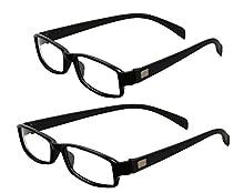 5e611963aa1 White   Purpule Rectangle Unisex Eyeglasses Frame - Combo ...
