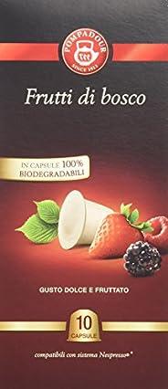 Pompadour Infusione per Bevande Calde, Capsule Infuso Frutti di Bosco - 10 capsule - [confezione da 3]