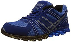 Steemo Men's Navy and Blue Running Shoes - 6 UK/India (40 EU)(STM1023)