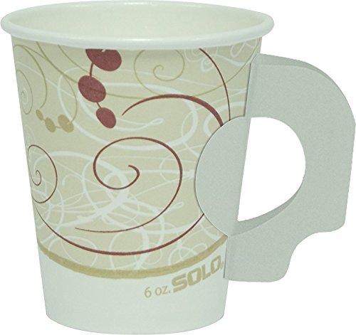 Lavazza Ceramic cappuccino Cup and Saucer,Set of 6,New Lavazza logo (6 oz cappuccino)