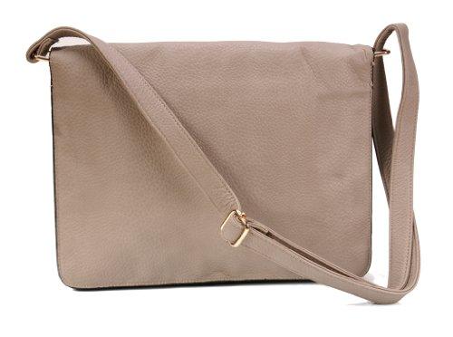 Handtasche - Schulter Tasche 300004 Beige