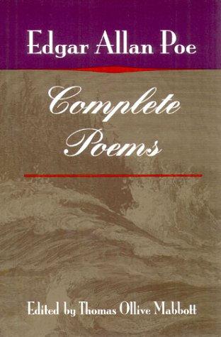 Complete Poems por Edgar Allan Poe