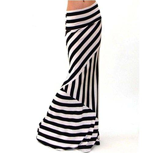 internet-women-asymmetric-high-waist-striped-fold-over-stretch-long-maxi-skirt-xl-striped