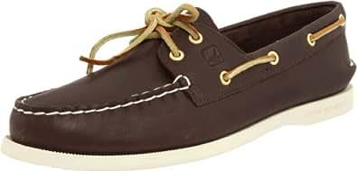 Sperry Authentic Original 2-Eye 9195017, Chaussures basses femme - Brun - V.3, 35.5 EU