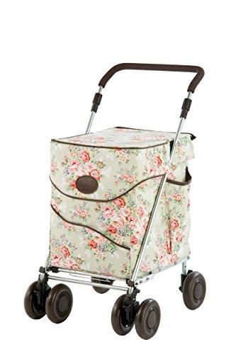 Sholley  Petite Deluxe Jackie Clover Kollektion Einkaufswagen und Gehhilfe im Blasses Blumenmuster