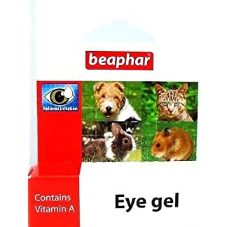 Beaphar Eye Gel Soothes Irritation Cleans Eyes Cats Dogs Rabbit Hamster Gerbil 7