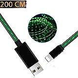 Câble de Chargeur pour iPhone, Areson Câble Light ning Vers USB de 200 cm Cordon de...