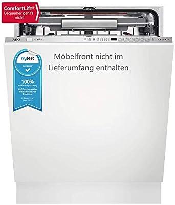 AEG FSE63800P Totalmente integrado 13cubiertos A+++ lavavajilla - Lavavajillas (Totalmente integrado, Tamaño completo (60 cm), Acero inoxidable, Botones, Frío, Caliente, Cajón)
