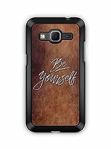 YuBingo Be Yourself Designer Mobile Case Back Cover for Samsung Galaxy Core Prime
