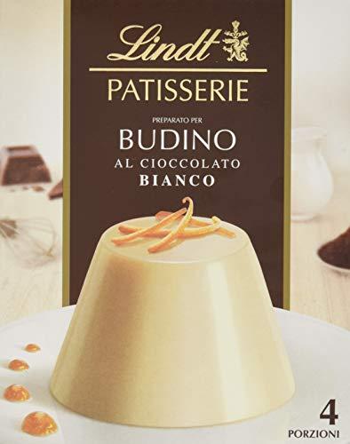 Lindt Pudding Mischung Weiß, feinste weiße Chocolade, 4 Portionen, 1er Pack (1 x 95 g)