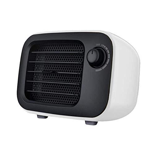 Suyoo Mini Excel Eco- Calefactor cerámico de rápido Calentamiento con Potencia Regulable de 500W...