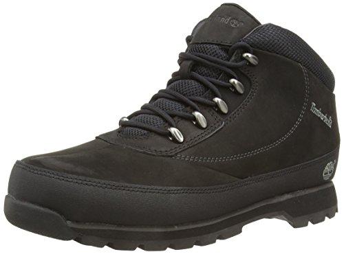 Timberland Herren Euro Brook Chukka Boots, Schwarz (Black Nubuck), 42 EU