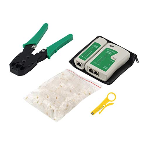 Ethernet Netzwerkkabel Tester Tools Kits RJ45 Crimpen Crimper Stripper Punch Down RJ11 Cat5 Cat6 Draht Linie Detektor -