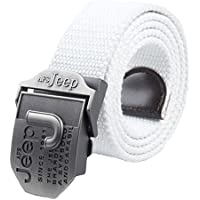 Fancyku Men's Automatic Buckle Casual Woven Canvas Belt