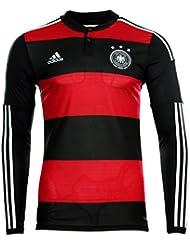Adidas adizero DFB Away Trikot langarm Player Edition M L XL schwarz rot 3 Stern