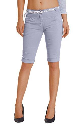Damen Shorts, ( 454), Grösse:42 XL, Farbe:Grau