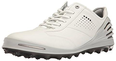 Ecco ECCO MEN'S GOLF CAGE PRO, shoes homme - Blanc (1007White), 44