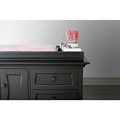 Eco Chic Baby Dorchester Changing Topper in Slate Finish by Eco Chic Baby -