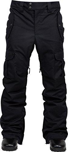 L1Outerwear Regular Fit Cargo Hose, Herren, Schwarz, L