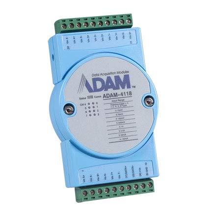 (DMC Taiwan) Robust 8-Ch Thermocouple Input Module with Modbus -