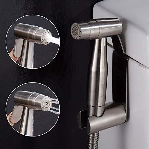 CIENCIA De mano del bidé del rociador superior de acero inoxidable Pulverizador Shattaf - Bidé Conjunto completo de WC, bidé mano pulverizador para WC WS024AF