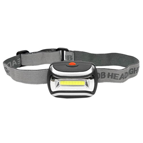 COB Outdoor LED Head Lamp Torch 5W Headlight 600 Lumens Bright Adjustable Angle
