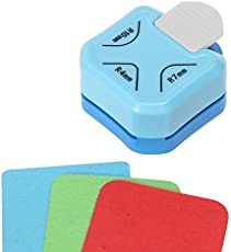 Shopaholic 3 in 1 Corner Cutter Punch Size R4mm, R7mm And R10mm Rounder for Paper Craft And Photo Cutter Scrap-booking Angle Eater