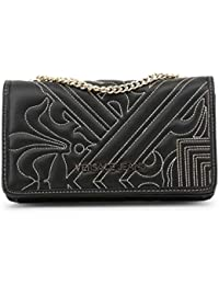 Women Clutch Bag Versace Jeans Black Women Genuine Designer Clutch Bag 3dfbd49361890