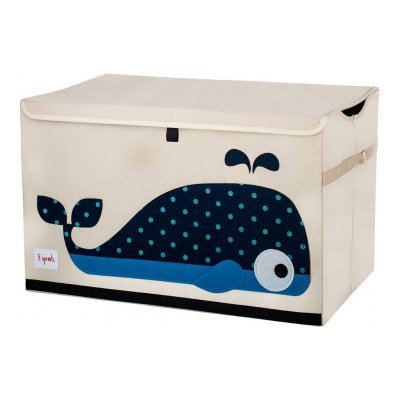 Storage Toy Chest Whale, 3 sprouts