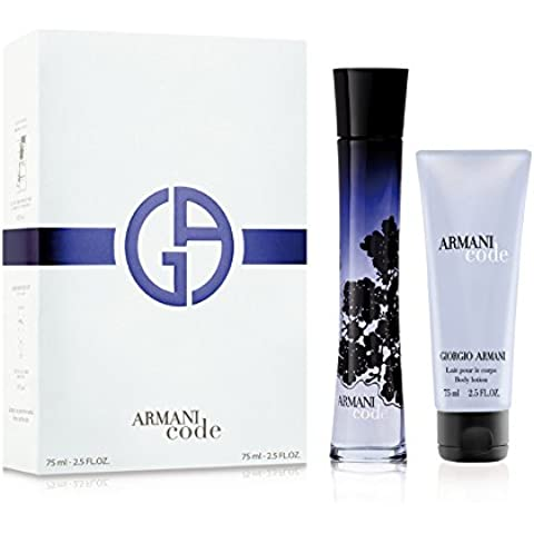 Giorgio Armani - Code Femme - Set de regalo para mujer - Eau de parfum 75 ml + Loción corporal 75 ml