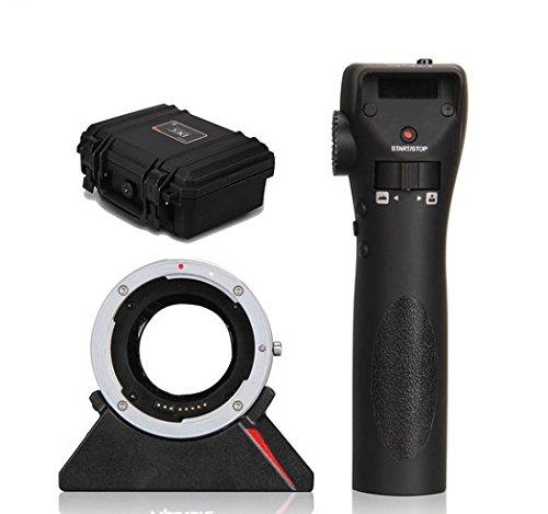 Gowe Fernbedienung Controller Wireless Follow Focus Adapter für Canon EF EF-S Objektiv zu Sony Kamera EOS für CINE Canon Wireless Controller