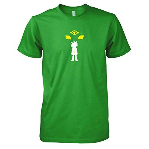 T Gi Oh Shirt Yu (TEXLAB - Yugi - Herren T-Shirt, Größe XL, grün)