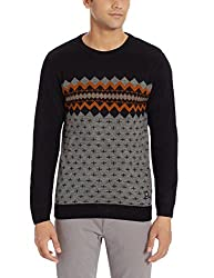 Duke Mens Acrylic Sweater (8907289742152_SDS233_XX-Large_Black)