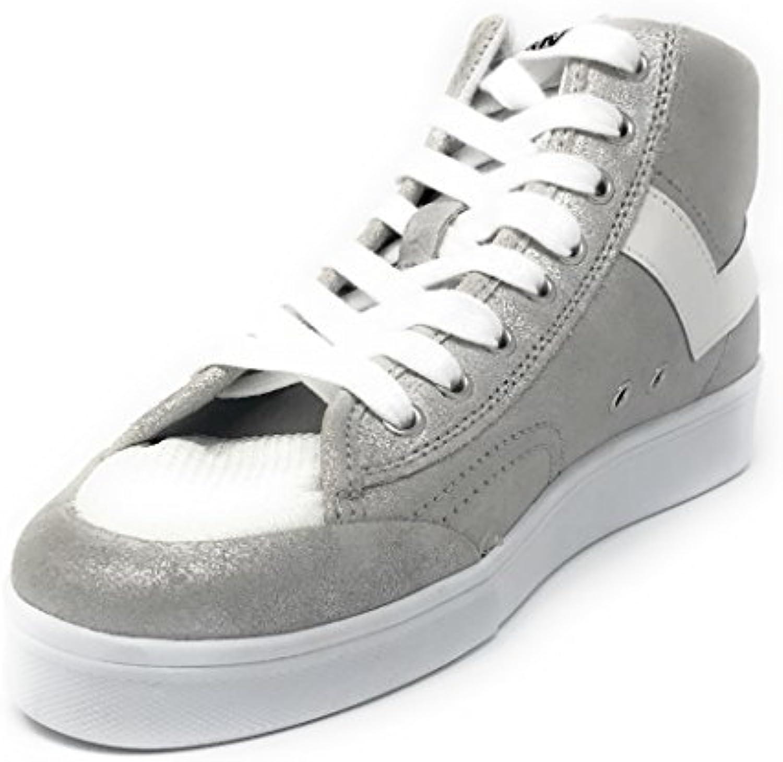 Pony scarpe da ginnastica Slamdunk Hi Metallic Suede 511-534B A4 511-534B | Abile Fabbricazione  | Scolaro/Signora Scarpa