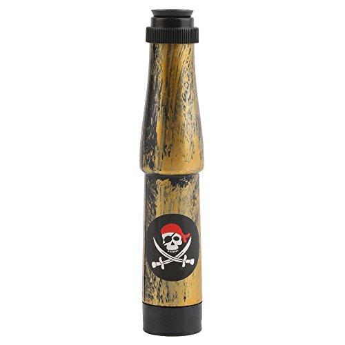 Erduo Capitán Pirata Traje de Juguete Telescopio náutico Fiesta de Halloween Regalo de los niños Disfraz de Disfraces