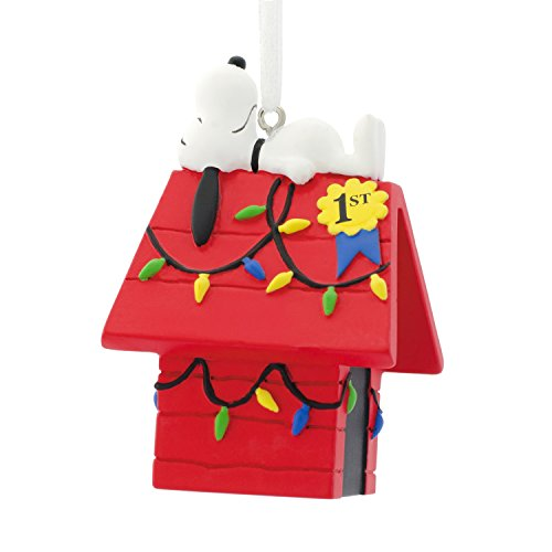 us Weihnachten Ornament, Snoopy Dog House, Snoopy Dog House ()