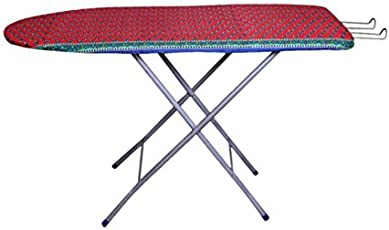 Flipzon Self Standing 18 inch Folding Ironing Board - (Colour May Vary, Multi-Color) - (Make in India)
