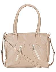 Mukul Collection Women's Shoulder Handbags White (mc-hb-009)